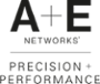 A and E Networks Precision plus Performance stacked logos